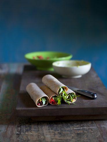 בוריטו שעועית- הארוחה המקסיקנית שתתאהבו בה. צילום: דניאל לילה