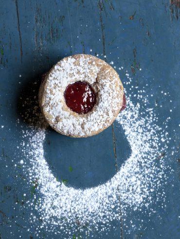 עוגיות ריבה טבעוניות צילום: דניאל לילה סטיילינג: עמית פרבר