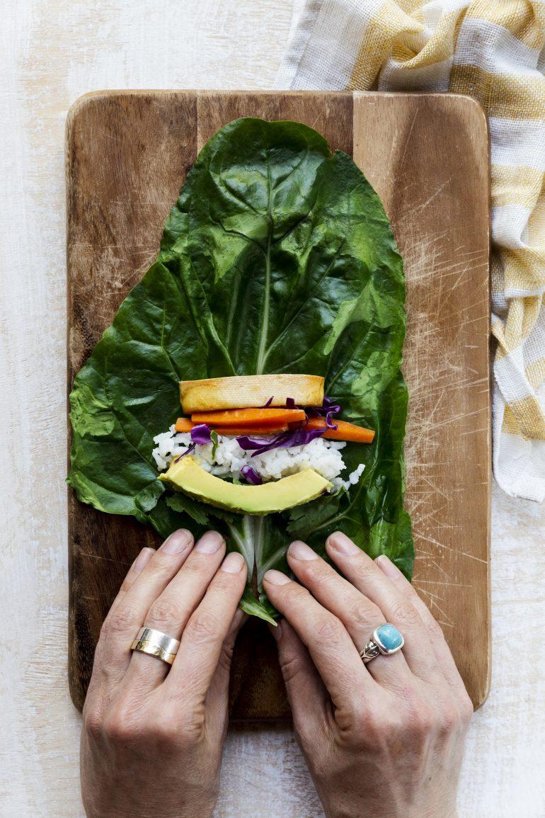 ראפ ירקות צבעוני. צילום: שני הלוי