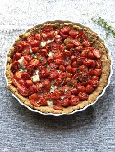 טארט עגבניות. צילום: זהר לוסטיגר בשן