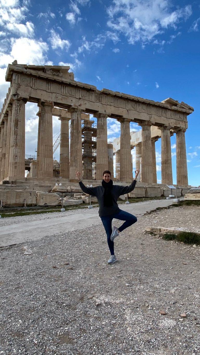 התאהבתי באתונה
