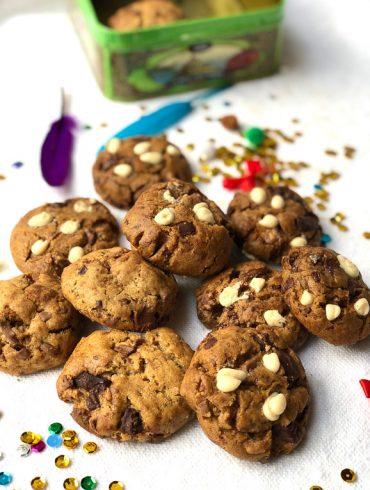 עוגיות שוקולד צ'יפס טבעוניות. צילום: זהר לוסטיגר בשן